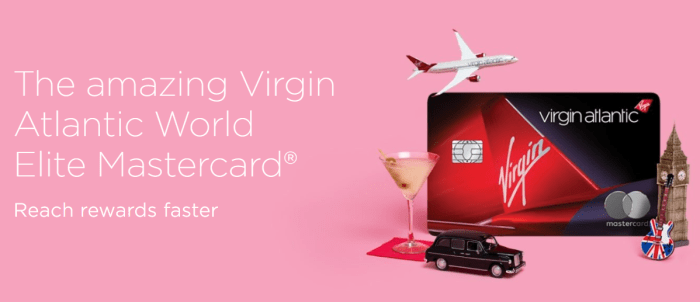 Virgin Atlantic Card 80K Bonus