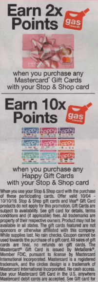 stop shop fuel points