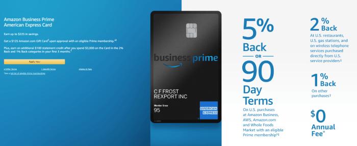Amazon Business Prime bonus