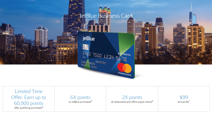 JetBlue Business Card 60K Bonus