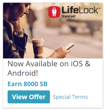 Swagbucks LifeLock Offer