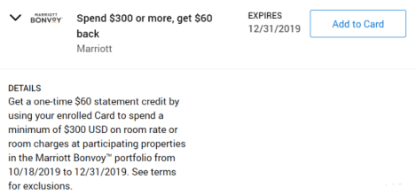 Marriott Amex Offer