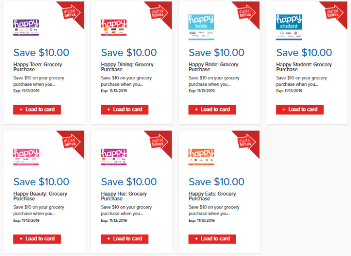 happy gift cards discount