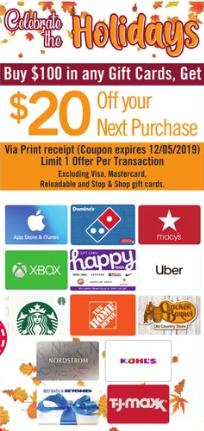 stop shop discount