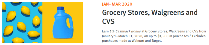 discover q1 5% categories