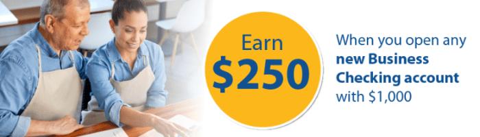 Rockland Trust Bank business checking bonus