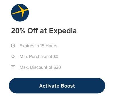 cash app expedia