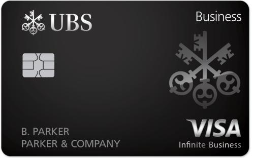 UBS Visa Infinite Business Card bonus