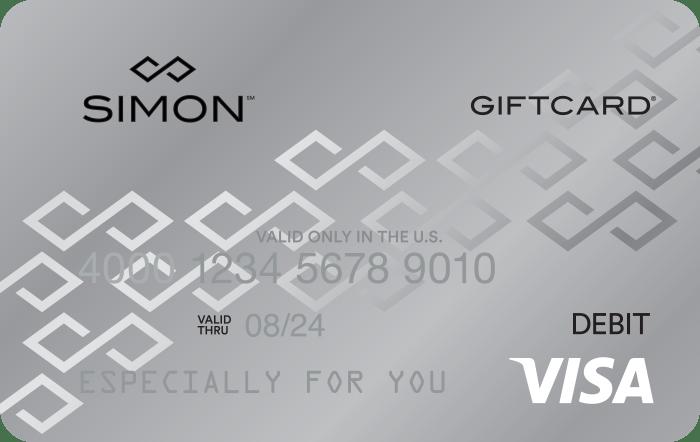 Simon Mall gift card codes