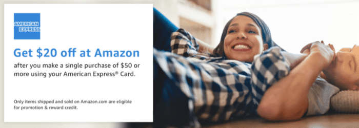 Amazon Discount amex cards
