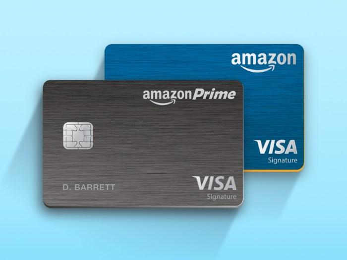 Amazon Rewards Visa Cardmembers rewards