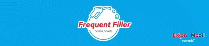 More ExxonMobil Rewards for Frequent Fillers