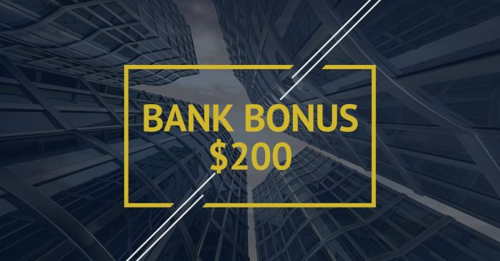 First Bank $200 bonus