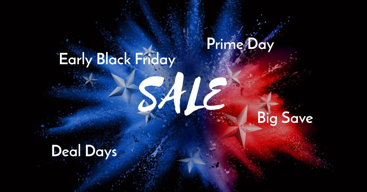 Big Sale Event: Amazon Prime Day, Walmart Big Save, Target Deal Days and Best Buy