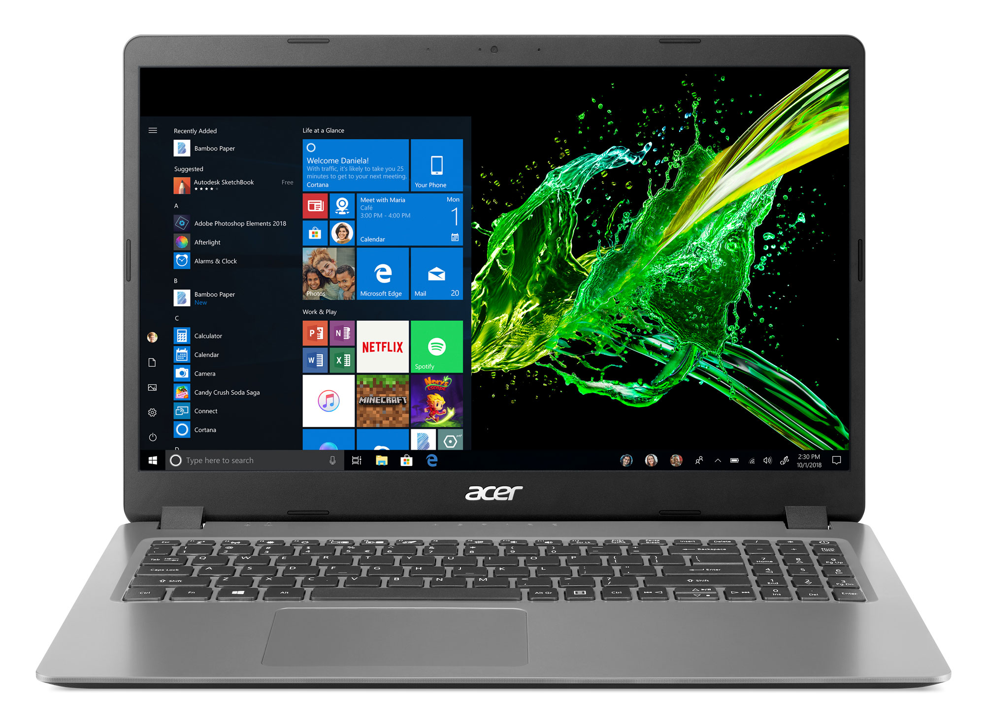 Acer Aspire 3 Laptop for 9: 15.6″ FHD, i5-1035G1, 8GB RAM, 256GB SSD