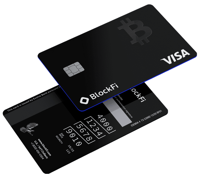 BlockFi Bitcoin Rewards Credit Card