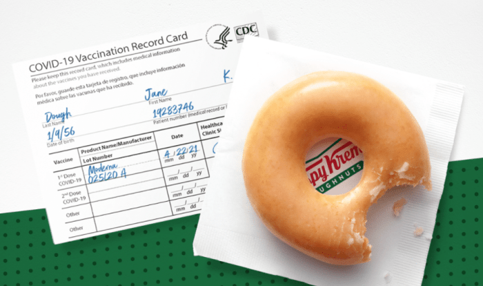 Krispy Kreme Free Doughnuts