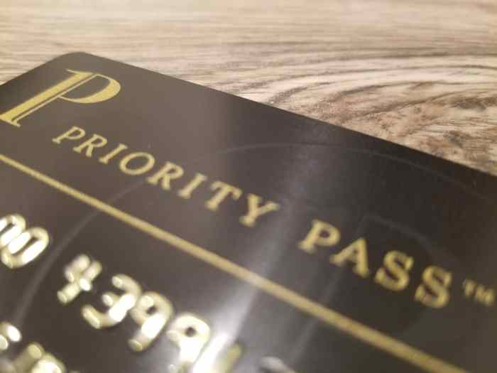 Credit Cards That Offer Free Priority Pass