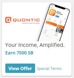 Swagbucks Quontic Bank Bonus