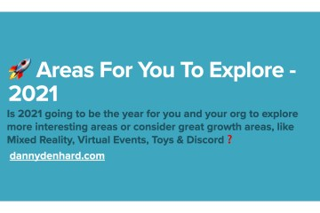 2021 The Growth Areas For You To Explore