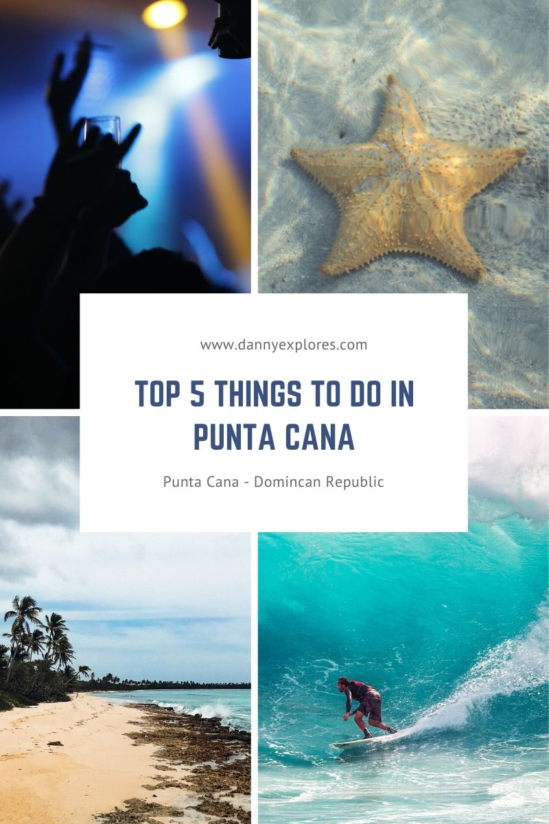 Looking for some fun and adventurous things to do in Punta Cana? From dancing the night away in the famous Coco Bongo nightclub to surfing at Macao Beach. Here's a quick list of the top 5 things you've gotta do when visiting the Dominican Republic! via @dannyexplores