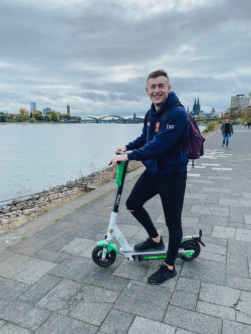 Scooting down the Rhine