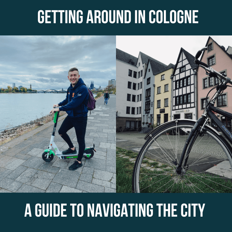 getting around in Cologne