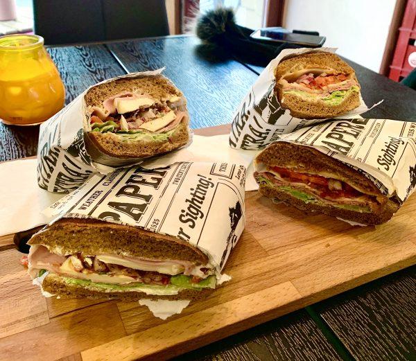 traditional danish sandwich