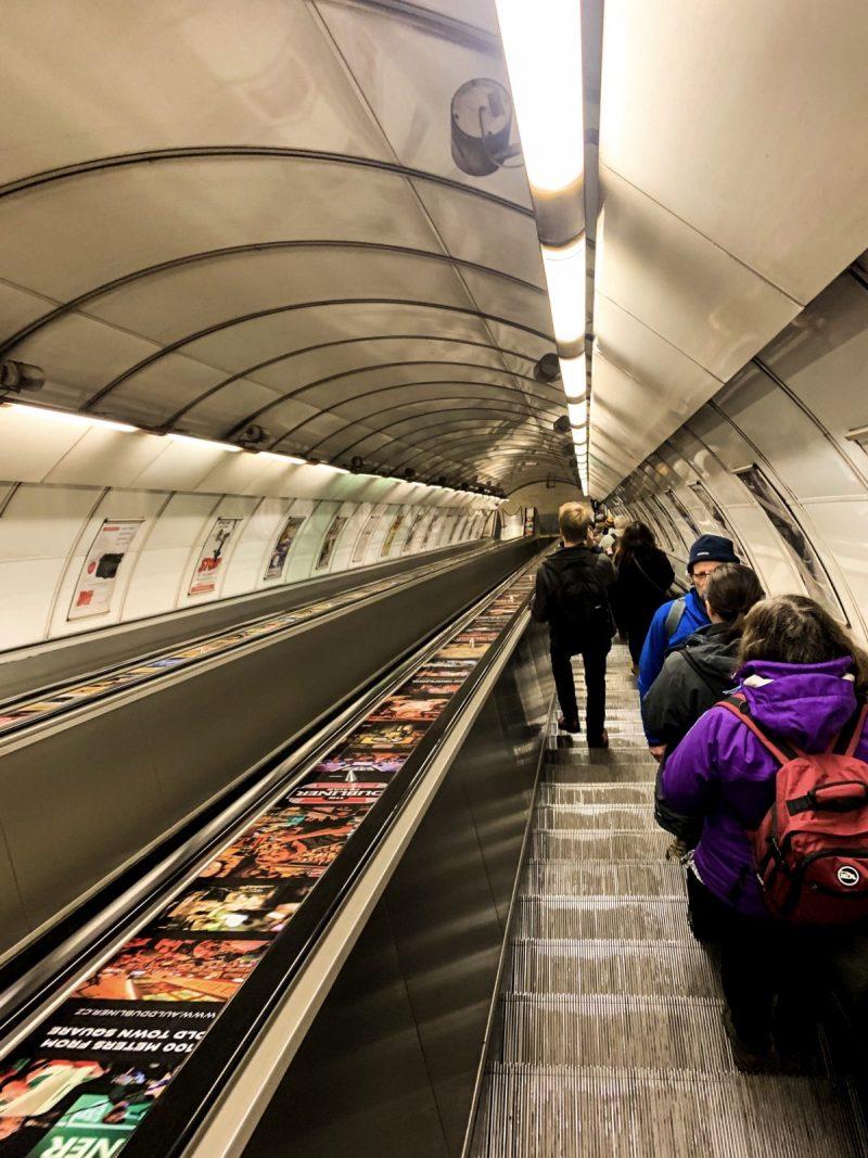 The Prague Metro