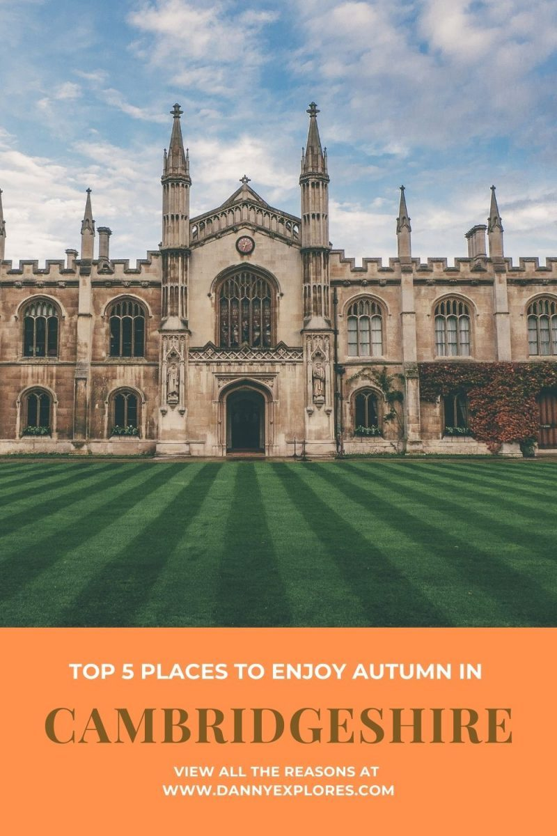 Looking for ideas on your next staycation? Check out this short guide on the top places to visit in Cambridgeshire in Autumn to find out why you should plan your next staycation here! via @dannyexplores