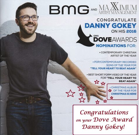Danny Gokey Christmas is Here Dove