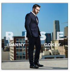 "Cover art for Danny Gokey's new album, ""Rise"""