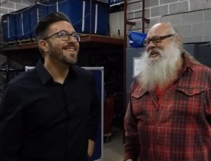 Danny Gokey interviewed Santa Ed Zorn Arena Tooltime