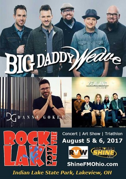 Shine FM Rock the Lake Event Danny Gokey