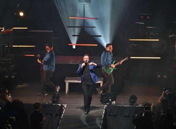 Danny Gokey Band performs with on the Very Next Thing tour
