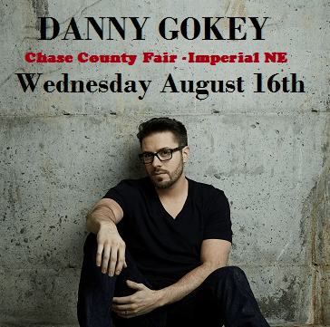 Danny Gokey to perform at the Chase Country Fair