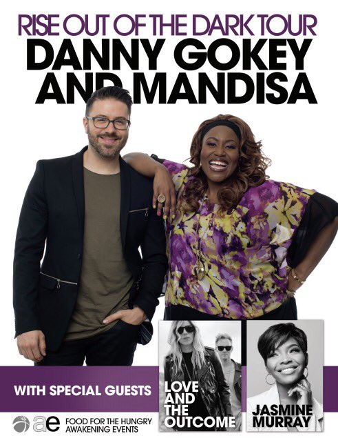 Danny Gokey and Mandisa to tour together