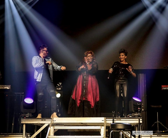 Annette Holloway photo of Danny Gokey, Mandisa, Jasmine
