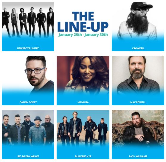 Danny Gokey to perform on 2019 Klove Cruise