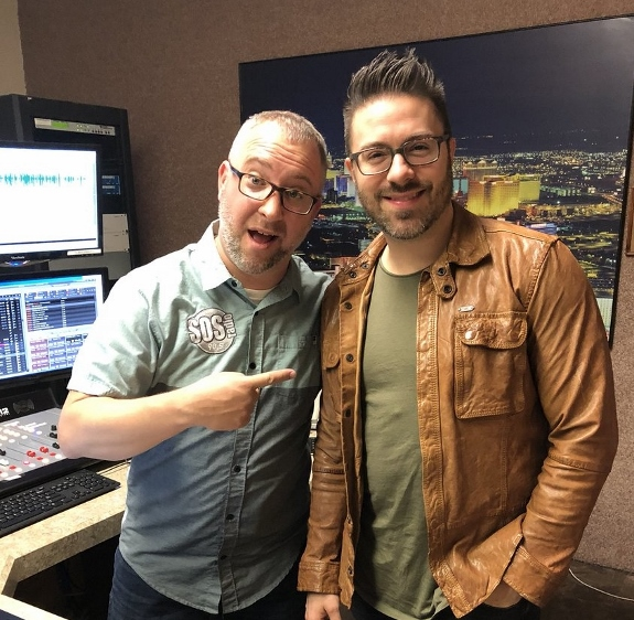 Scott Herrold interviews Danny Gokey in Las Vegas for SOS Radio