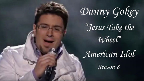 "Danny Gokey performs ""Jesus Takes the Wheel"" on American Idol"