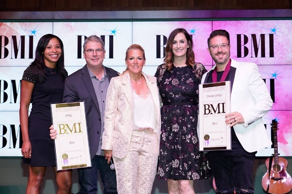 Bmi Christian song award Danny Gokey with BMG