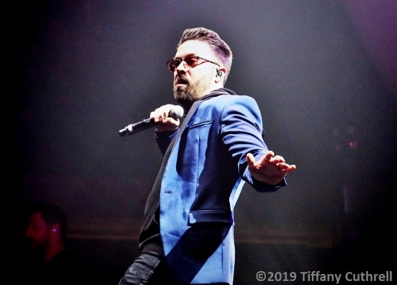 Danny Gokey photo by Tiffany Cuthrell at Winter Jam