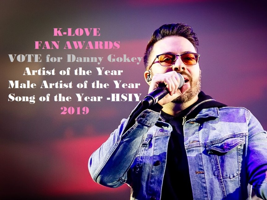 vote for danny Gokey klove fan awards