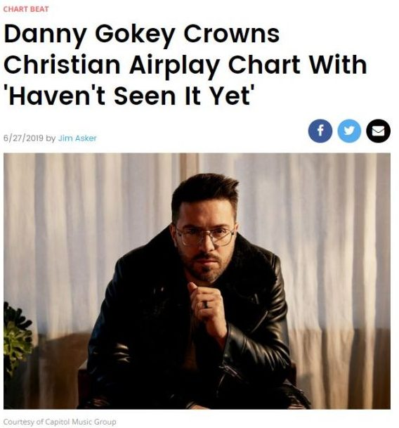 Billboard Crowns Danny Gokey HSIY