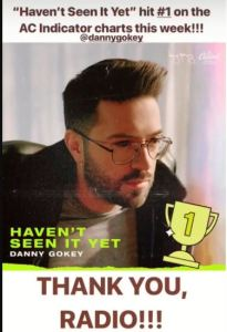 danny gokey scores 1st #1 with HSIY