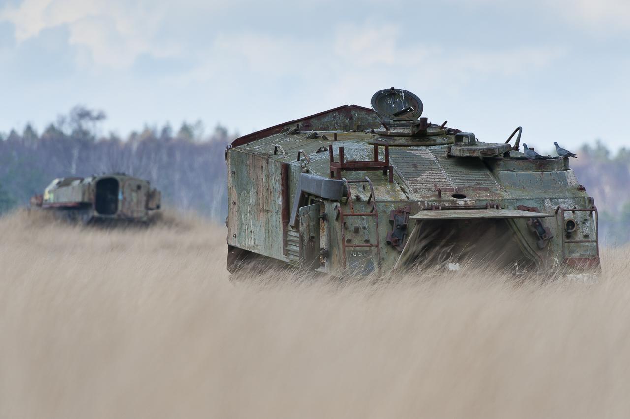 Groot Schietveld - Tanks