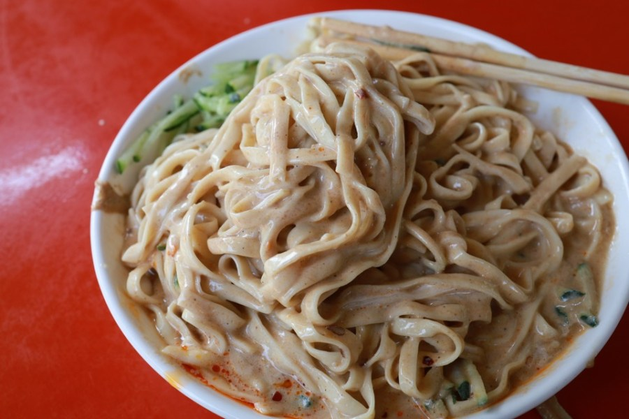 正老牌北興榕樹下 : 黑糖粉粿 綜合冰 涼麵