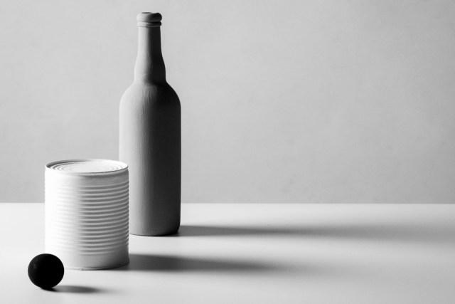 Wit, grijs en zwart. School voor fotografie les 8m,online