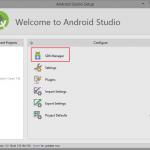 Android Studio Setup Configure